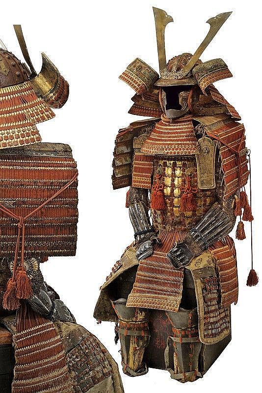 A set of Samurai armor, Edo Period. from Czerny's International Auction House