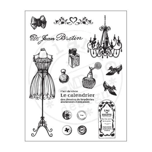 Marianne Design clear stamp Fashion (Tanja)