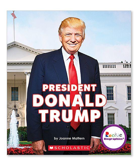 Rookie Biographies: President Donald Trump Paperback