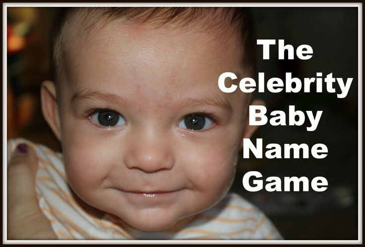 Play This HILARIOUS #Celebrity #Baby Name Game by Toulouse & Tonic. #humor