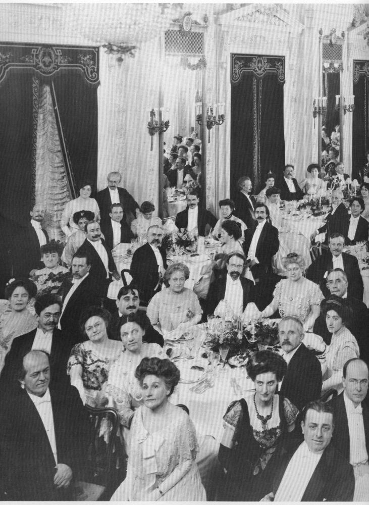 1909 Metro Opera Dinner