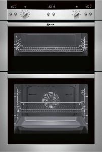 Neff Stainless Steel Integrated (Built-In) Electric Double Oven U15E52N3GB #NEFF