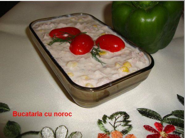 Salata de ton cu porumb - Bucataria cu noroc
