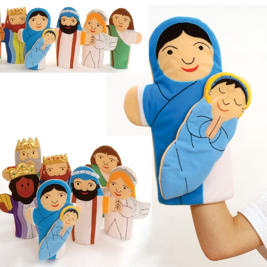 Nativity Hand Puppets