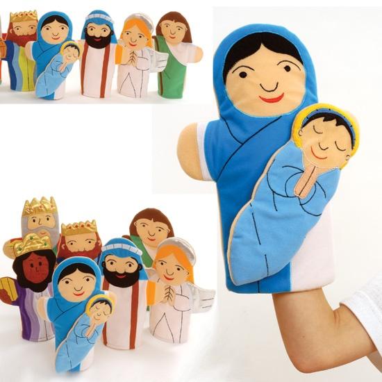 Nativity Hand Puppets