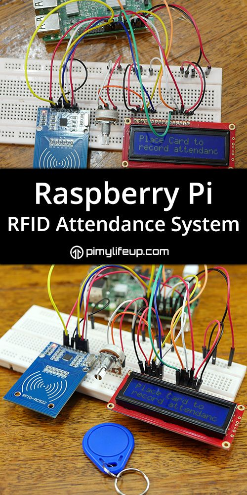 Build your own Raspberry Pi RFID Attendance System