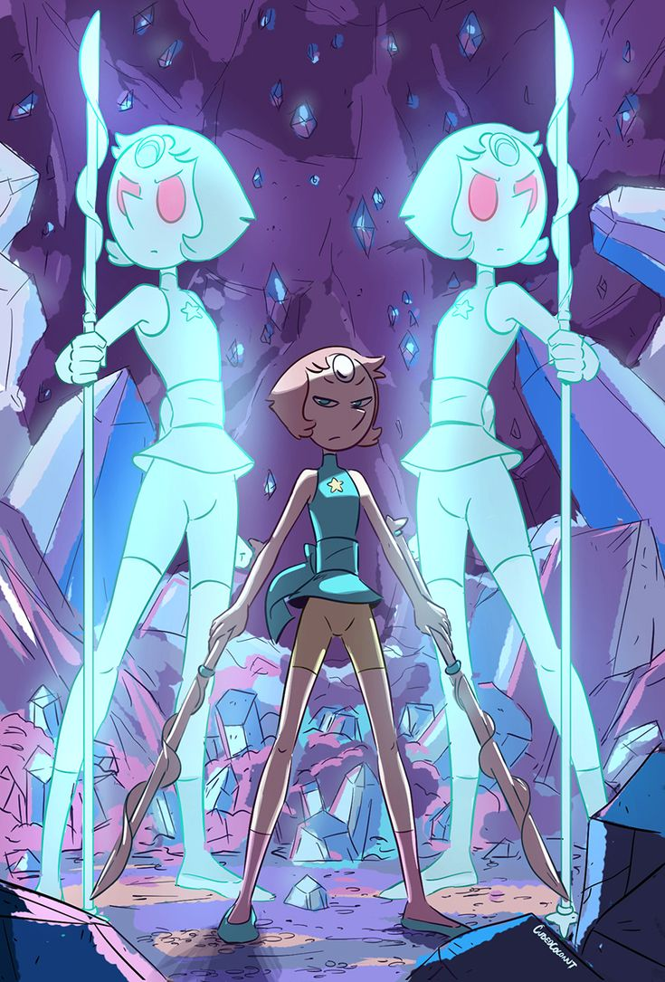 """cubedcoconut: """" Wouldn't it be cool to see Pearl summon holo fusions during a fight scene? """""""