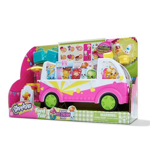 Shopkins Scoops Ice Cream Truck Playset - save $9