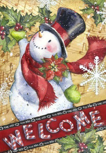 Candy Cane Snowman House Flag by Toland. Save 27 Off!. $18.32. Toland Flags are made from durable 600 denier polyester. 600 denier polyester. Machine washable. Licensed art. Toland Flags are UV, Mildew, and Fade Resistant. Heat sublimated process permanently dyes flag fabric for long-lasting color. Decorative Art Flag. Heat sublimated to permanently dye fabric. All Toland Flags are machine washable. UV, Mildew, and Fade Resistant. The authority in garden flags, Toland Home Garden offers...