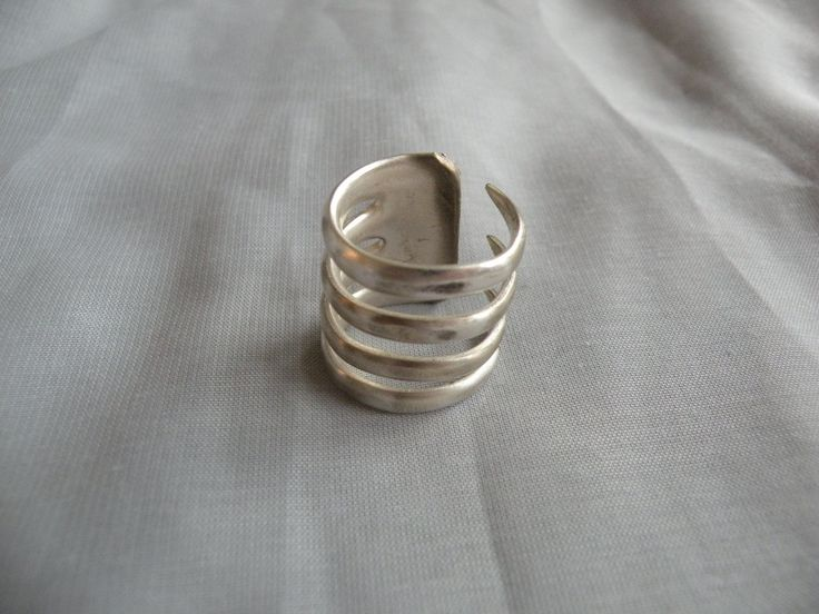 fork ring. Looks like it needs a little more finishing in the back, but a cool idea!