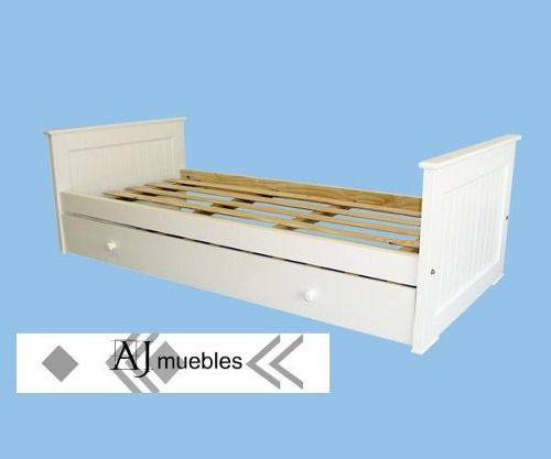 (4) Diván Cama Americana Laqueada Blanca D. De Fabrica Ajmuebles - $ 2.239,89 en MercadoLibre