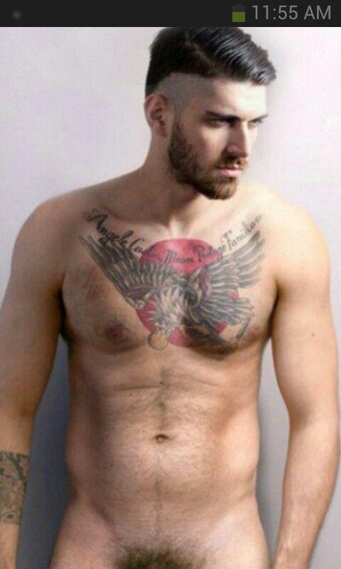 Nake women chest tattoos for men