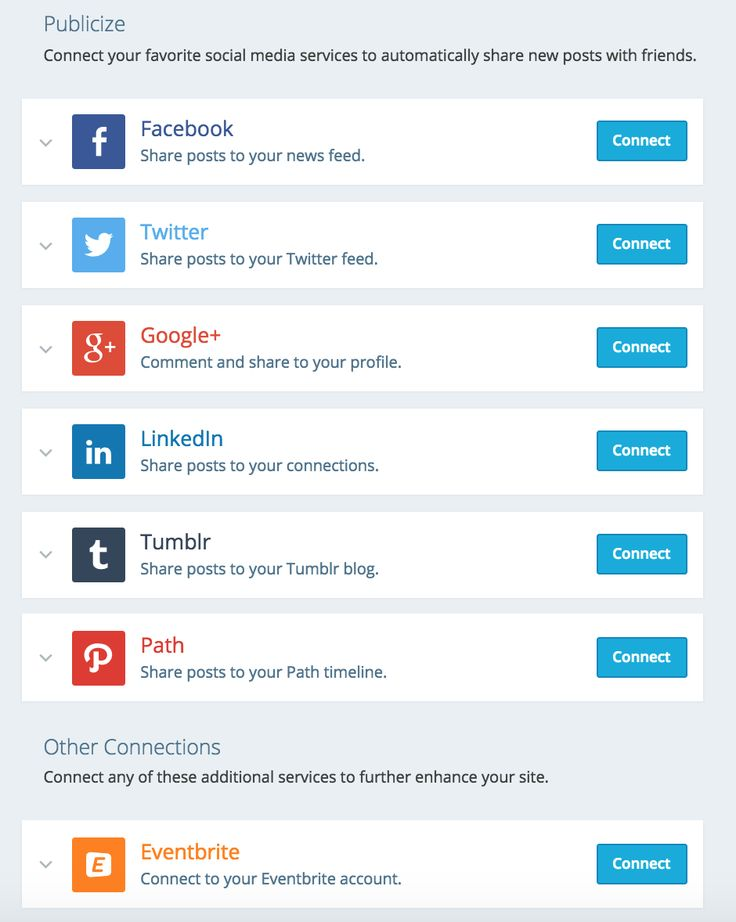 connect social network profiles example에 대한 이미지 검색결과