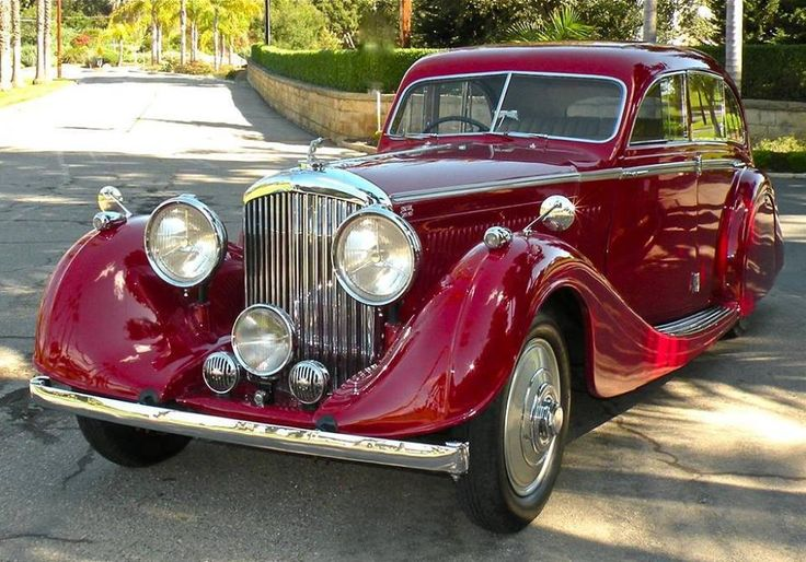 1936 Bentley Airline Saloon by Gurney Nutting (chassis B118HK)...Brought to you by #HouseofIns #EugeneOregon.