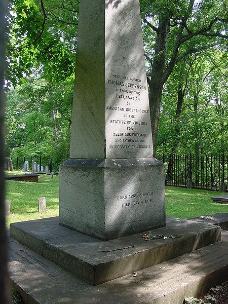 Thomas Jefferson's Grave Site