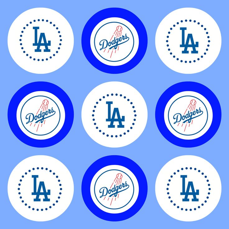 Project: Party Perfect: {Free Printables} Go Dodgers!