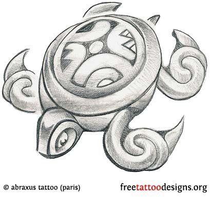 Turtle Tattoos | Polynesian and Hawaiian Tribal Turtle Designs  | followpics.co