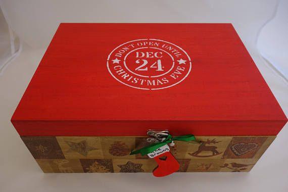 Christmas Eve Box  Red