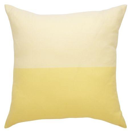 Marcus Cushion 55x55cm  Iced Lemon