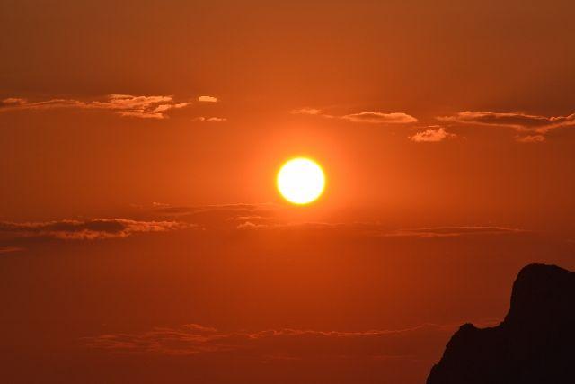 Sunset Kontogialos Beach