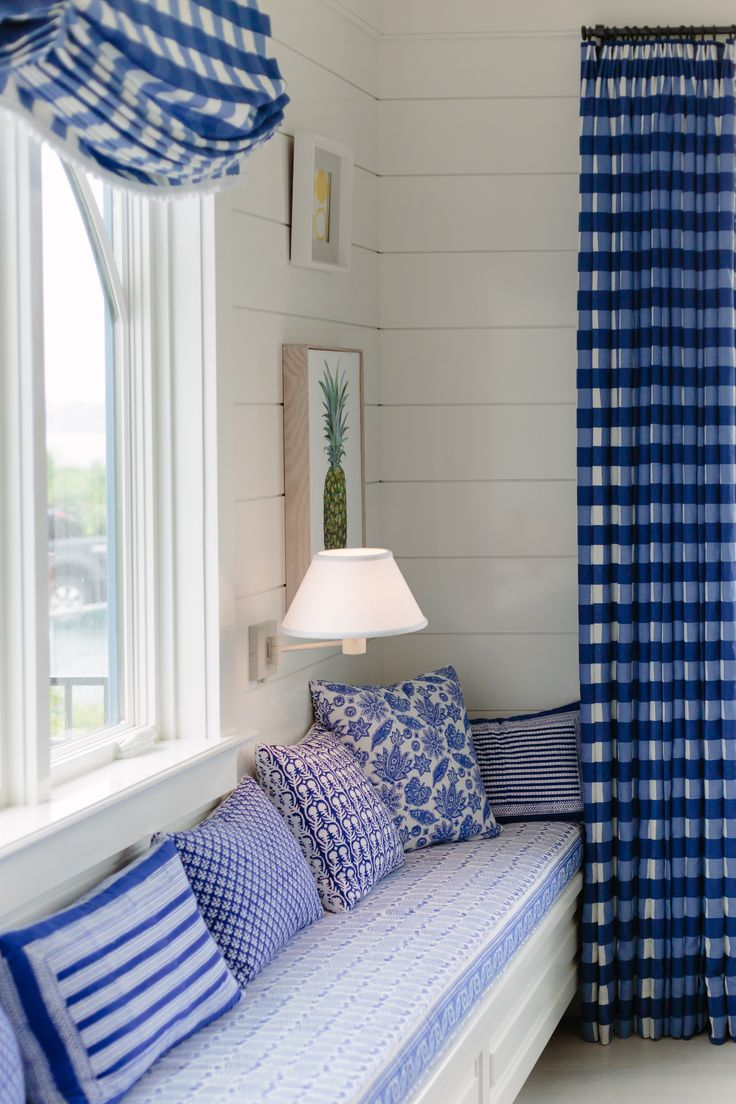 Window seat storage camps pinterest - Join Me On A Tour Of The 2017 Coastal Living Idea House Designed By Mark D