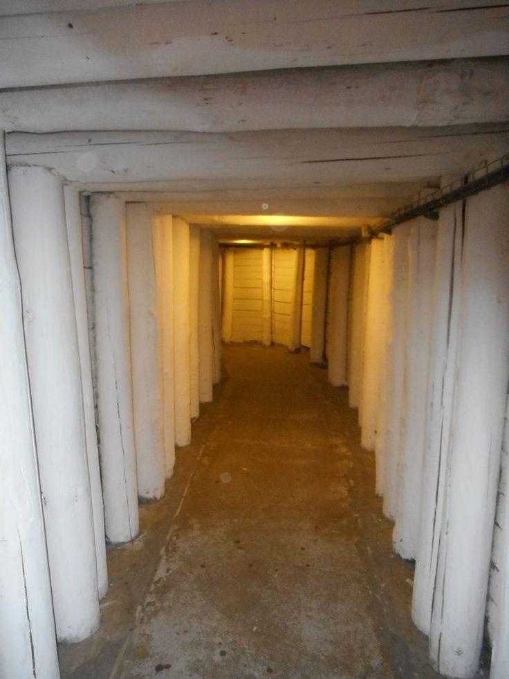 Wieliczka Salt Mine - long, salty corridors