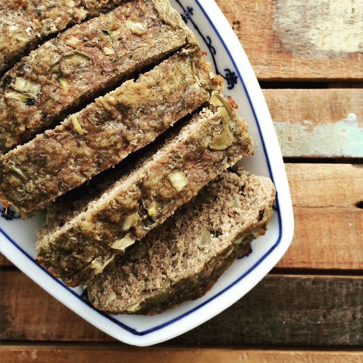 Glutenvrij gehaktbrood - Paleo meatloaf - www.eatpurelove.nl