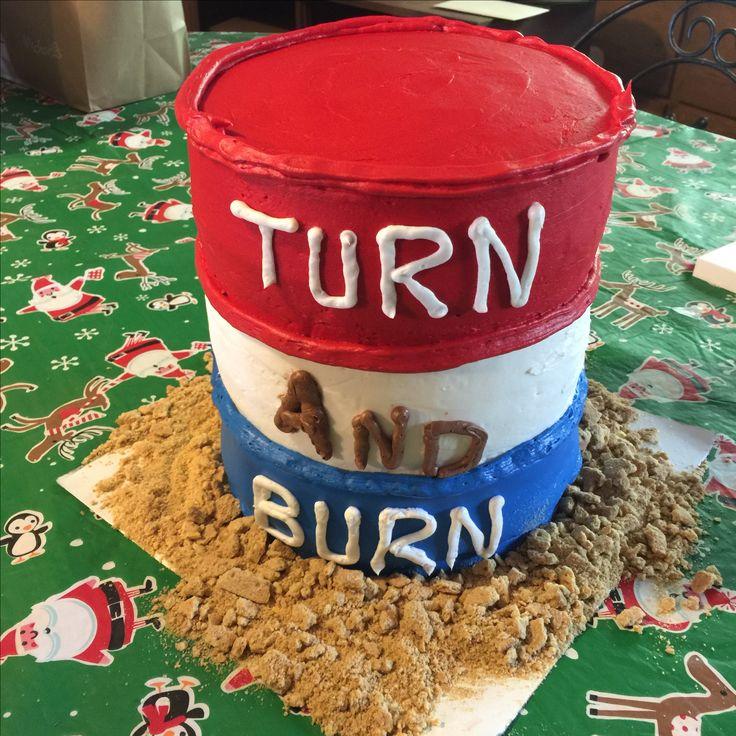 Barrel Racing Cake