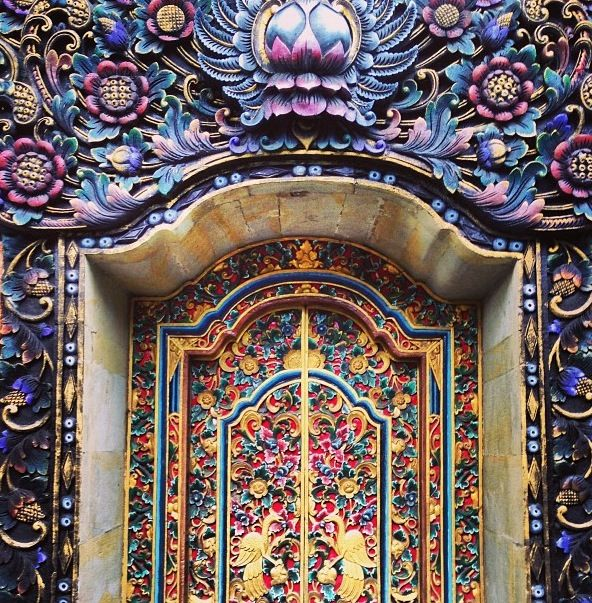 Lovely door found in Bali