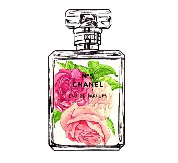 Chanel No 5 Vintage Style Art Print by LadyGatsbyLuxePaper on Etsy