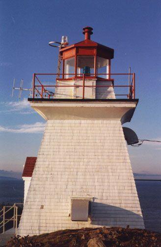 Cape Enrage #Lighthoue - New Brunswick, #Canada http://www.lhdigest.com/Digest/database/uniquelighthouse.cfm?value=931