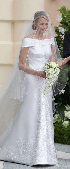 Princess Charlene Wedding   wallpaper trendy: Princess Charlene Wedding Dress