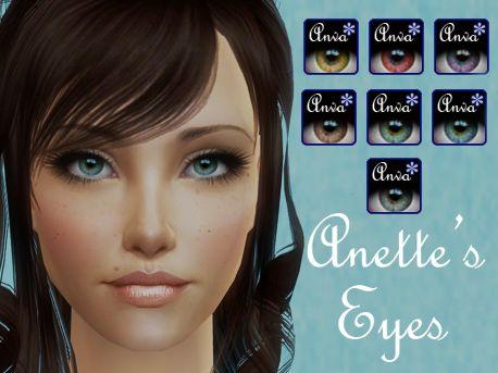 Sims 2 (eyes)