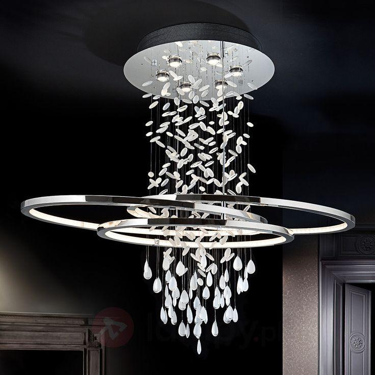 Fantastyczna kryształowa lampa wisząca BRUMA 8582165