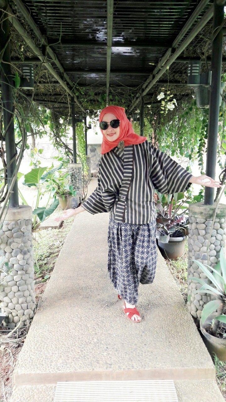 Batik yogya with lurik By.G'nitZ mbuita