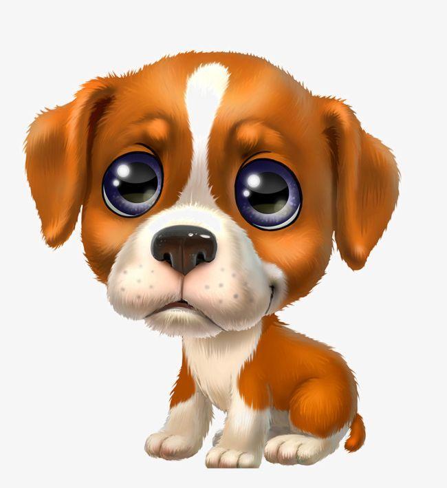 Meng Pet Cute Puppy Png Animal Big Big Eyes Puppy Creative Creative Cute Puppy Cute Cartoon Animals Cartoon Animals Puppy Art