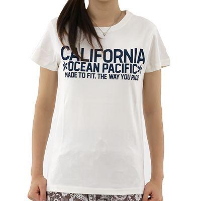 OPレディースTシャツ人気/サーフブランドTシャツ : オーシャンパシフィック サーフ半袖Tシャツ「523553」