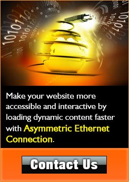 Choose to employ #AsymmetricalEthernet Connectivity that supports to load your website's dynamic content faster and gives interactive experience to the end users. Asymmetrical data flow put an extra bandwidth into downstream flow that helps engaging more potential users/customers successfully with your website. Visit us today or speak with one of our experienced customer service representatives at 888.972.BLUE