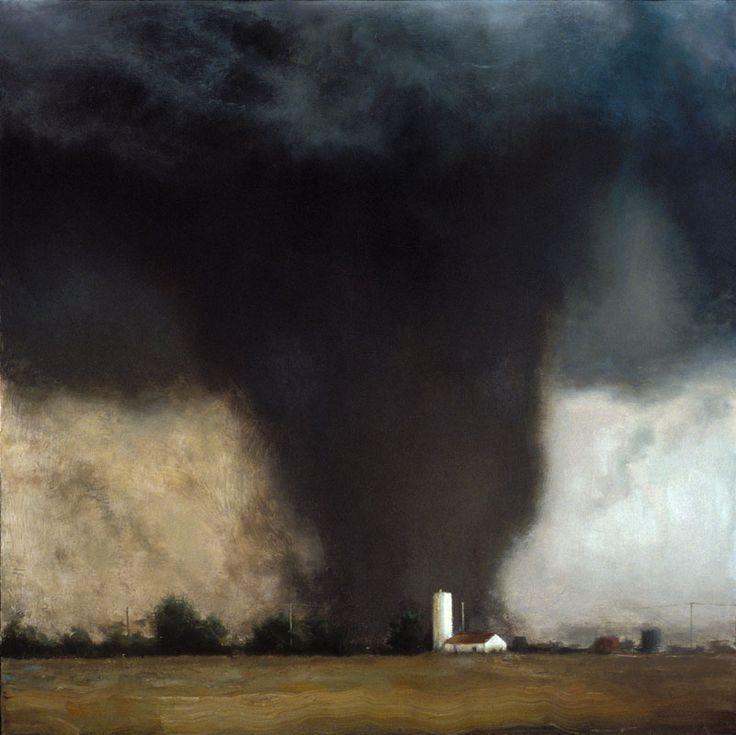 John Brosio - Oklahoma Twister, 2002Painting: Oil on canvas.