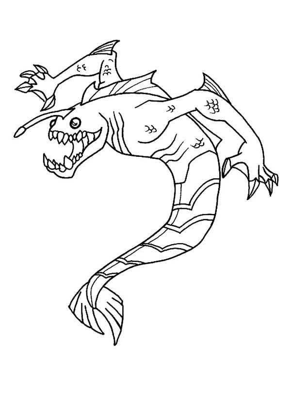 Ripjaws From Ben 10 Omniverse Coloring Page Download U0026 Print Online Coloring Pages For Free Coloring Pages Online Coloring Pages Ben 10
