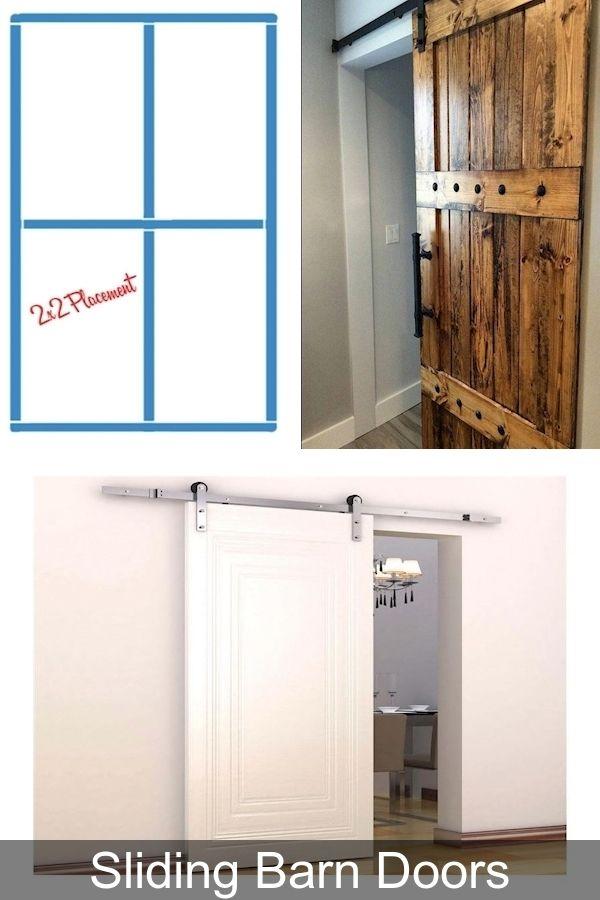 Oak Doors Sliding Bathroom Doors Interior Interior Sliding Mirror Closet Doors In 2020 Barn Doors Sliding Barn Door Doors