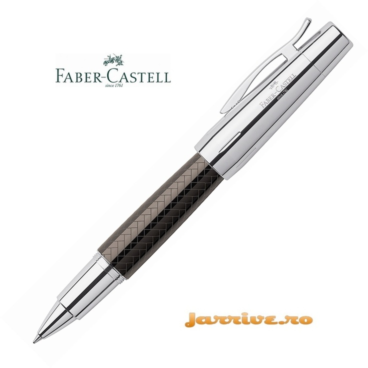 Faber-Castell e-motion Rollerball Parquet Brown 148285