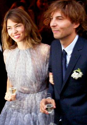 Sofia Coppola married Thomas Mars on August 27, 2011.