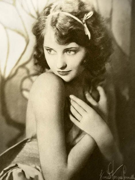 "Barbara Stanwyck. Never much liked Stanwyck, despite her talent--too ""hard"" for me. Crawford was too. Still, this is a lovely photo."