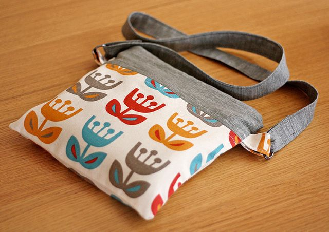 Zipper pouch by How About Orange, via Flickr