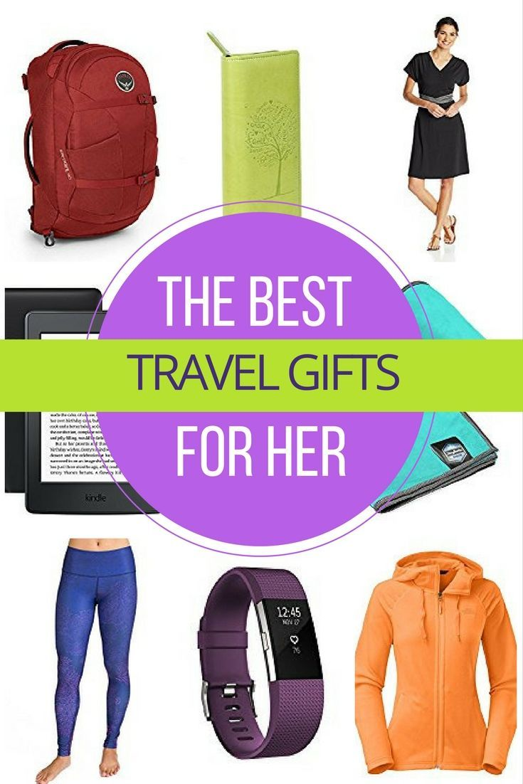 Best Travel Gifts For Her: Original and Practical Tips