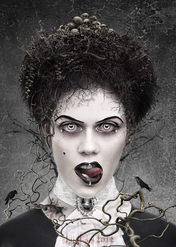 Les 74 meilleures images du tableau dark gothic beautiful for Definition art gothique