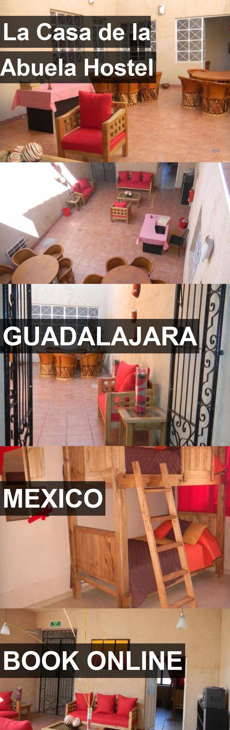 La Casa de la Abuela Hostel in Guadalajara, Mexico. For more information, photos, reviews and best prices please follow the link. #Mexico #Guadalajara #travel #vacation #hostel