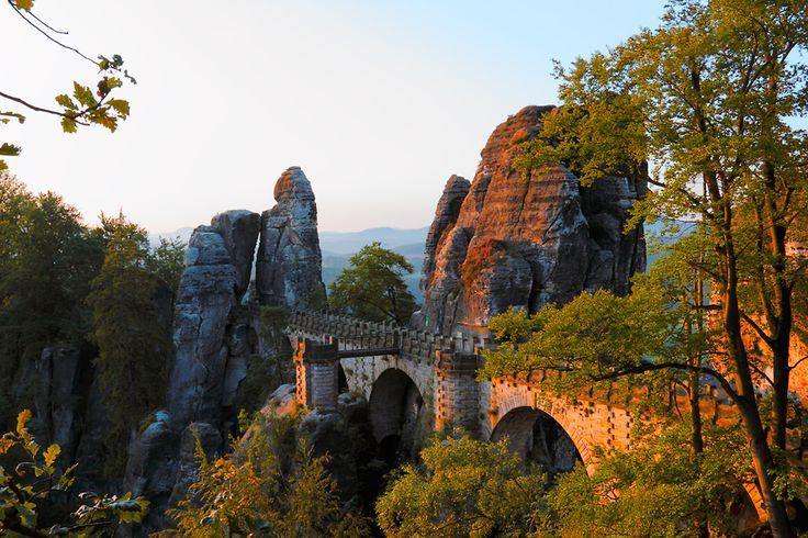 Basteibrücke, sächsische Schweiz