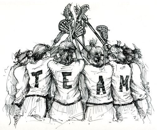 """There's no """"I"""" in team."""